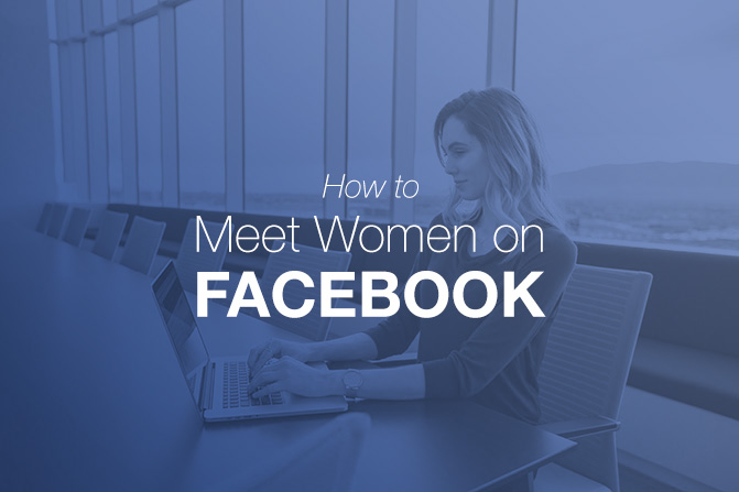 how to meet single women on facebook